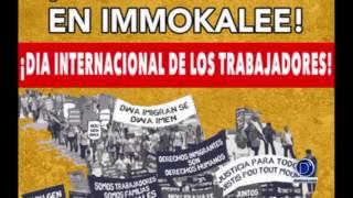 Líderes comunitarios invitan a la marcha de los trabajadores en Immokalee