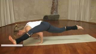getlinkyoutube.com-Yoga Arm Balance / Eka Pada Koundiyasana II