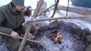 getlinkyoutube.com-Survival: Baulanleitung für einen Fischspeer (Angeln) - Teil 1