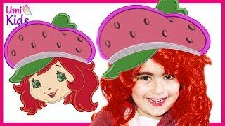 getlinkyoutube.com-Çilek Kız Makyajı | UmiKids Makyaj Videoları
