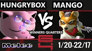 Genesis 4 SSBM - Liquid` Hungrybox (Jigglypuff) Vs. C9 Mango (Fox) Smash Melee Winners Quarters