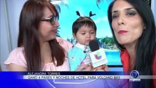 Alejandra Torres es la gran ganadora del concurso de Universal