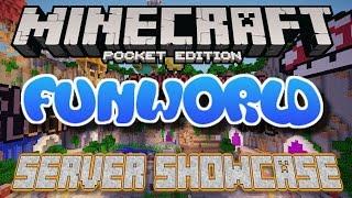 getlinkyoutube.com-FunWorld Minigames Server - Minecraft Pocket Edition