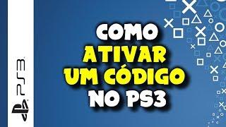 getlinkyoutube.com-PLAYSTATION 3 - Como Inserir, Resgatar ou Ativar Código (PLUS, PSN CARD, JOGOS) no PS3