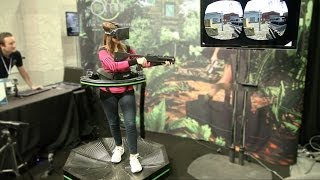 getlinkyoutube.com-The 'Virtuix Omni' Actually Lets You Run Around Video Games