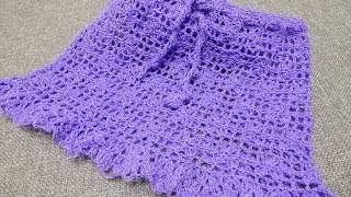 getlinkyoutube.com-Falda para Niña Crochet