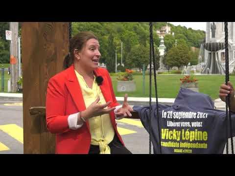 Vicky Lépine, candidate indépendante et déterminée!