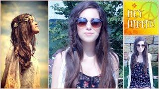 getlinkyoutube.com-Festival / Hippie /  LOOK | MakeUp & Haare & Outfit | Hey Hippie!