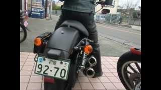 getlinkyoutube.com-女性ライダー Sportster XL883N スポーツスター 883 アイアン