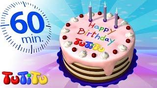تو تي تو   كعكة عيد ميلاد   لعب مفاجئة أخرى