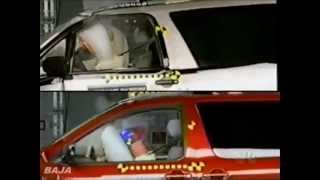 getlinkyoutube.com-20. Dateline 1998 IIHS Midsize Sedans and Minivans Offset Crash Test.flv