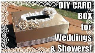 getlinkyoutube.com-Card Box For Weddings or Showers // DIY Wedding