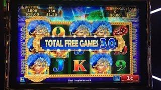 getlinkyoutube.com-Sparkling Nightlife Slot Machine Bonus - over 330 spins!