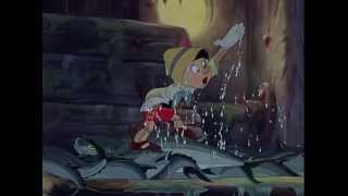 Pinocchio (1940)   Search & Escape From Monstro
