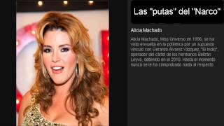 """getlinkyoutube.com-las putas del """"narco"""" Las reinas de belleza, actrices"""