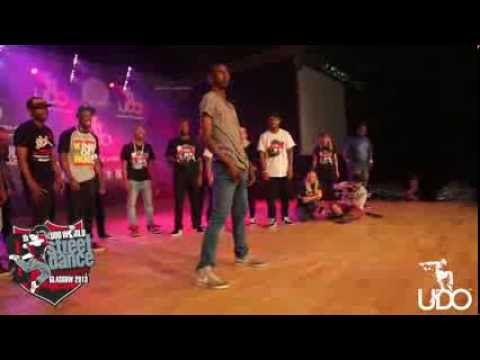 GIL THE GRID : UDO World Championships 2013 Glasgow II  Judge Demo