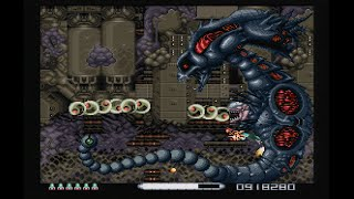 R-Type III (SNES) - 2-ALL Clear (Normal & Advanced)