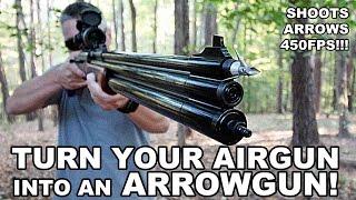 getlinkyoutube.com-Turn Your Airgun into an Arrow Gun! Air Venturi Air Bolt