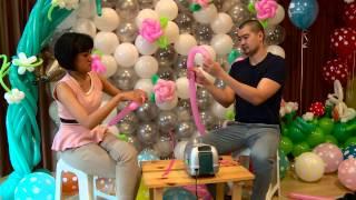 getlinkyoutube.com-Kreasi Unik Seni Membentuk Balon - NET12