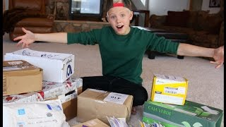 getlinkyoutube.com-Carson Lueders - FAN MAIL Vlog #4