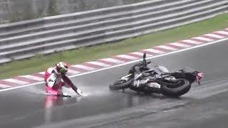 getlinkyoutube.com-Motorcycle Crash & Fail Compilation Nordschleife Nürburgring 2013 - 2015