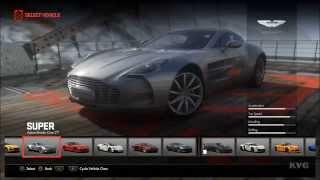 Driveclub - All Cars | List (PS4 HD) [1080p]