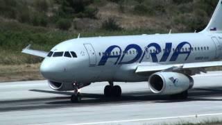 getlinkyoutube.com-Planespotting in Mytilini Airport