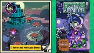 getlinkyoutube.com-Plants vs Zombies Heroes - Plant Mission 5: Beware the Bewitching Zombie