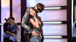 getlinkyoutube.com-【TVPP】Taecyeon(2PM) - Candy In My Ears(with Baek Jiyoung), 내 귀에 캔디 @ Comeback Stage, Music Core Live