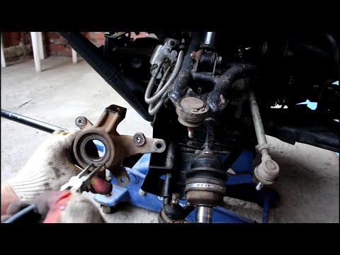 CFMOTO CF500A basic Квадроцикл Замена подшипника передней ступицы