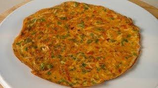 Indian Masala Omelette   Sanjeev Kapoor Khazana