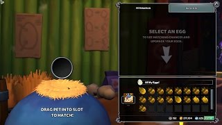 Dungeon Defenders 2: 17 Gold Egg Hatching Thank You For 500 Subs!