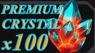 getlinkyoutube.com-SUPER GAMING FAMILY OPENS 100 PREMIUM CRYSTALS | MARVEL: Contest of Champions