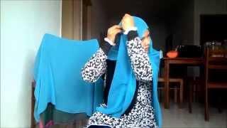 getlinkyoutube.com-tutorial tudung perry #4 ( style perry and dena bahrin)