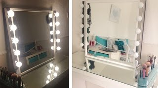 getlinkyoutube.com-My DIY Hollywood Inspired Vanity Mirror