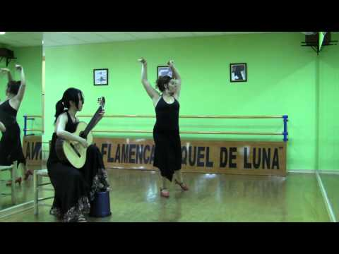 Xuefei Yang with Spanish Flamenco dancer Raquel de Luna : Malaguena by Albeniz