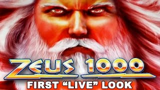 "getlinkyoutube.com-Zeus 1000 Slot - First ""LIVE"" Look - LIVE PLAY! - NEW SLOT! - Slot Machine Bonus"