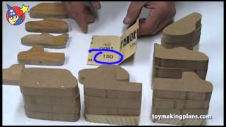 getlinkyoutube.com-Wood Toy Plans - Creating Router Templates to Make Multiple Wood Toy Cars