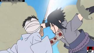getlinkyoutube.com-Sasuke vs Danzo AMV Three Days Grace - Time of dying