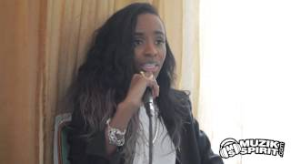 Angel Haze parle de son remix du titre Papaoutai de Stromae
