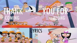 getlinkyoutube.com-Phineas and Ferb Last Day of Summer -  Thank You For Coming Along Lyrics
