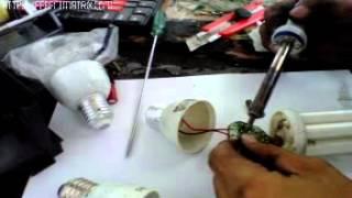 Cara Memperbaiki Lampu Hemat Energi