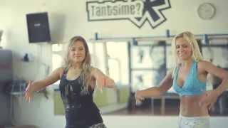 getlinkyoutube.com-Shakira feat. Carlinhos Brown-La La La (Brasil 2014) choreo by Mariann and Niina (NO SOUND!)