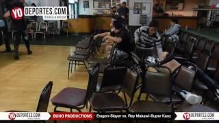 Slayer y Eragon vs.  Rey Makawi y Super Kaoz lucha libre en Chicago