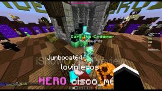 Mineplex Hero rank is in the creeper