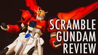 getlinkyoutube.com-1/144 HGBF Scramble Gundam (Gundam Build Fighters TRY) | REVIEW