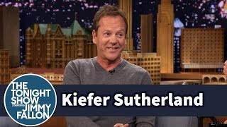 Kiefer Sutherland Reveals the Origin of Jack Bauer's Damn It Catchphrase width=