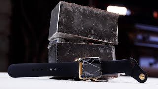 getlinkyoutube.com-$10,000 Gold Apple Watch Edition Crushed By  Magnets