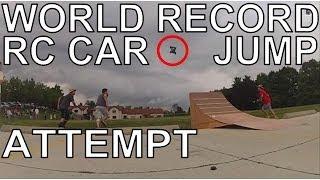 getlinkyoutube.com-WORLD'S LONGEST RC CAR JUMP RECORD ATTEMPT! 92 FEET! 75th VIDEO!