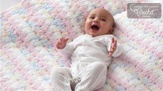 getlinkyoutube.com-How to Crochet A Blanket Blanket: Easy